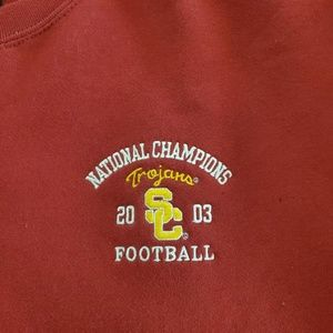 USC FOOTBALL  NATIONAL CHAMPIONSHIP SWEATSHIRT XXL